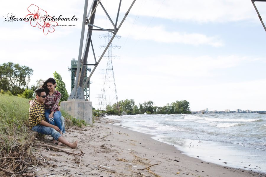 Engagement session in Burlington