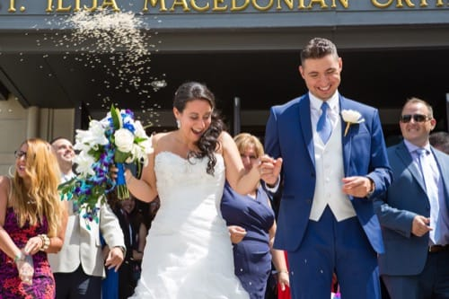 Italian and Macedonian Wedding at the Le Tréport in Mississauga