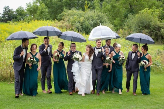 Wedding photography at the Knollwood Golf Club Ancaster