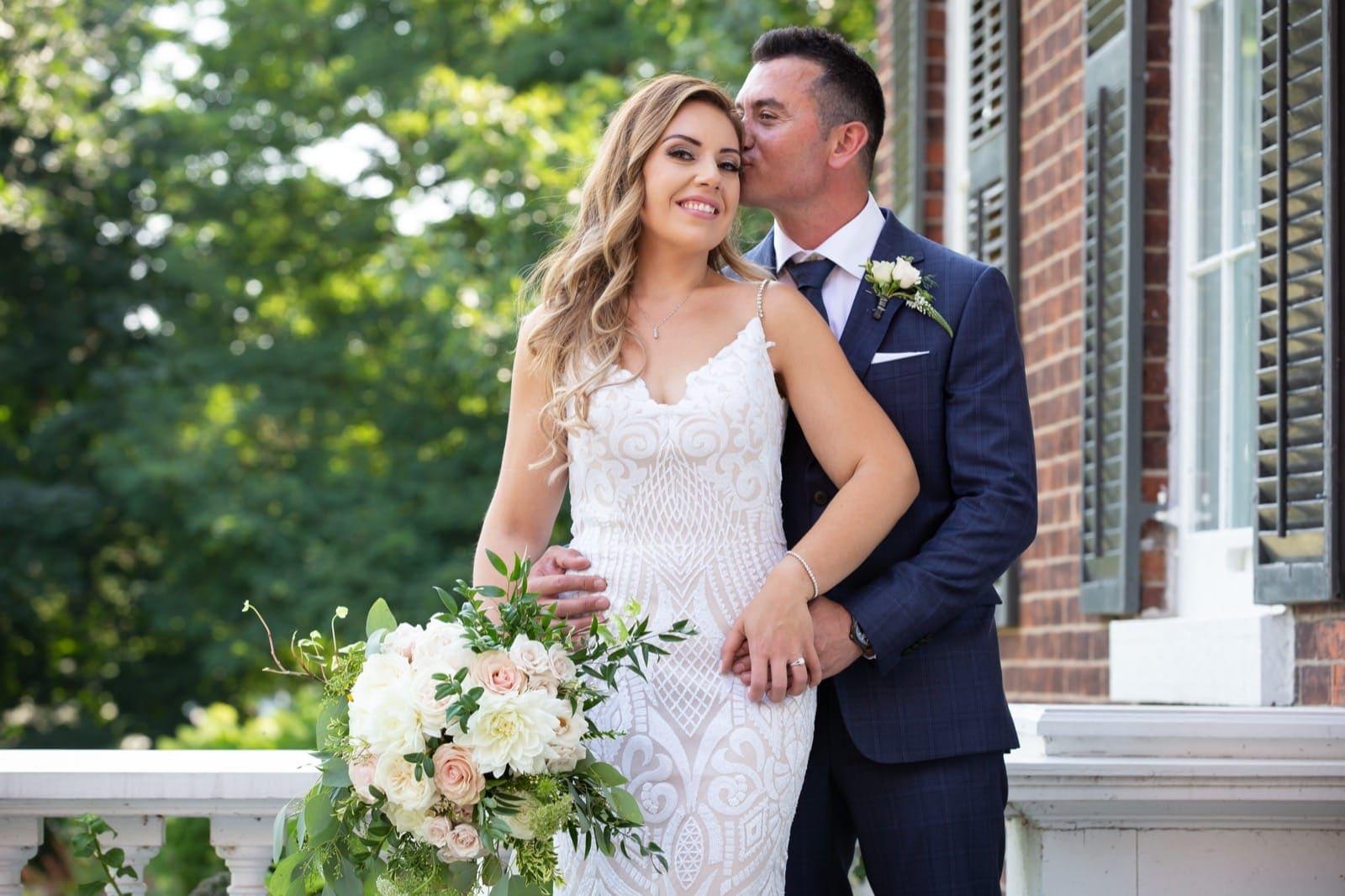 Happy couple in Oakville