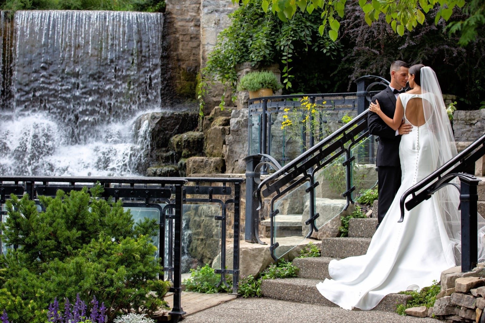 Ancaster Mill Wedding Photo