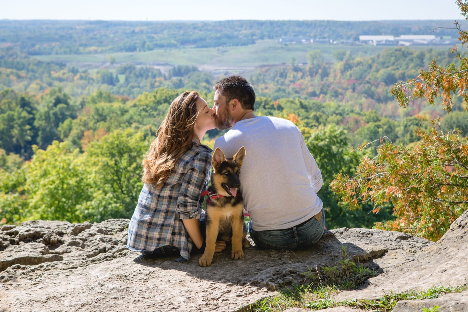 Fall Engagement Session at Rattlesnake Point Milton