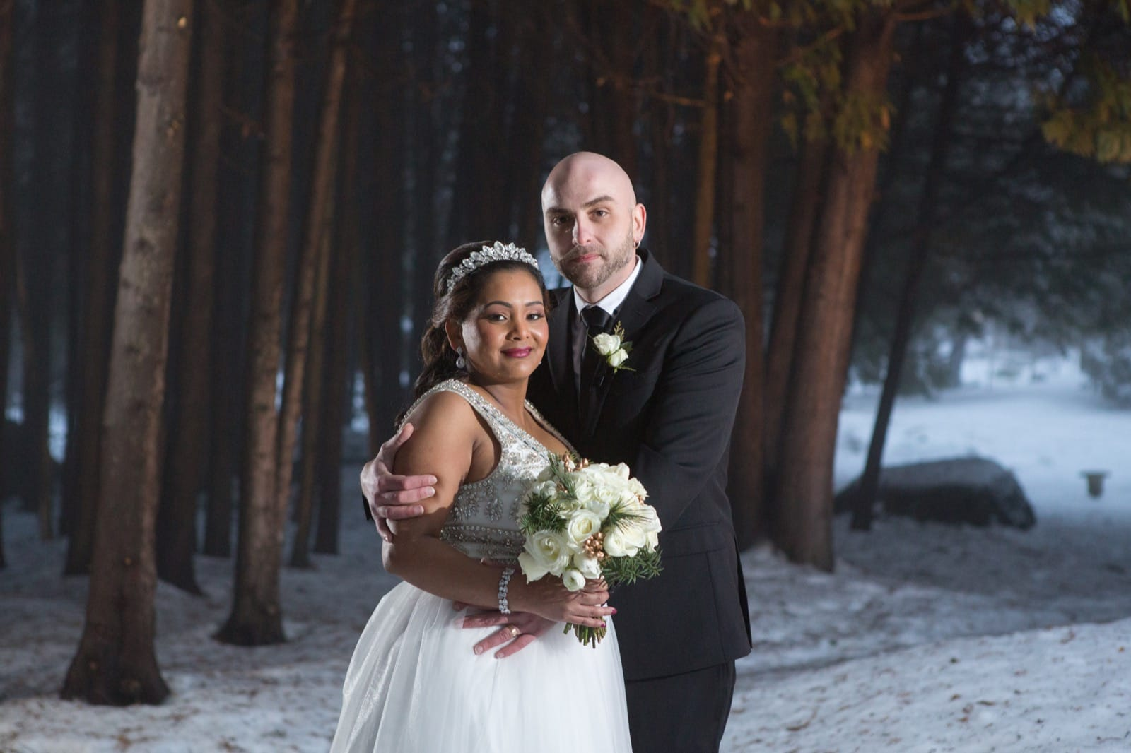 Winter wedding at the Millcroft Inn & Spa