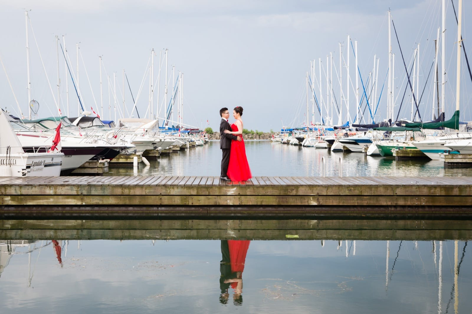Wedding at Oakville Harbour Banquet
