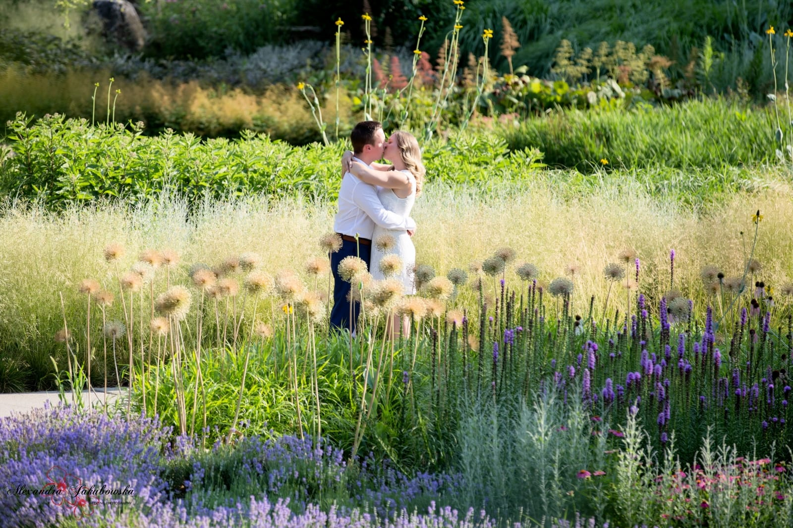 Engagement session in Burlington