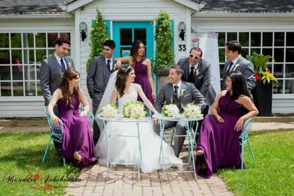 Oakville Wedding Party